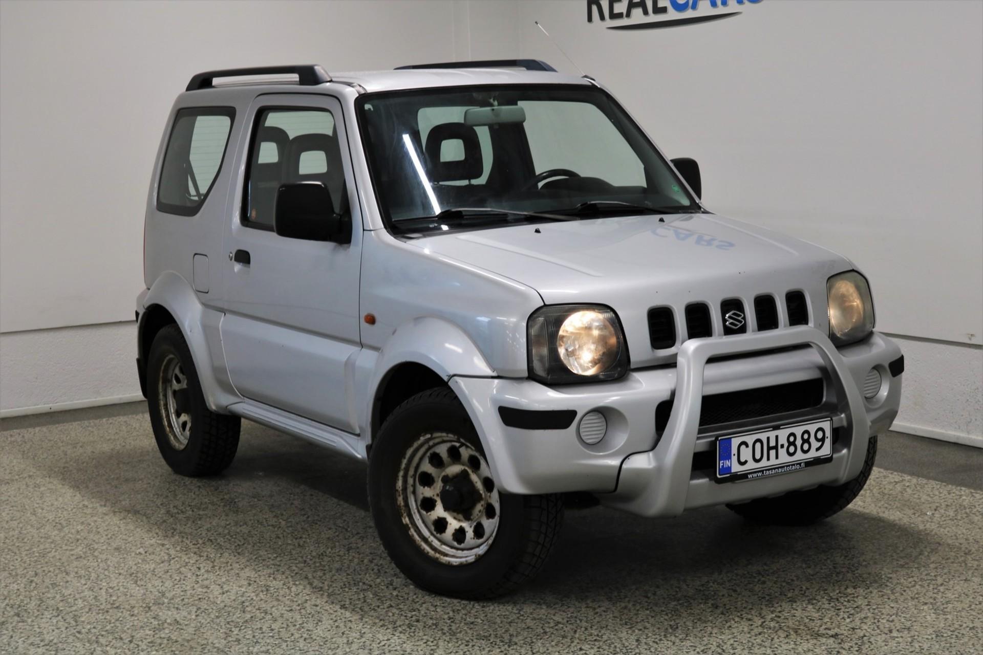 SUZUKI JIMNY 1, 3 JLX 4WD 3d