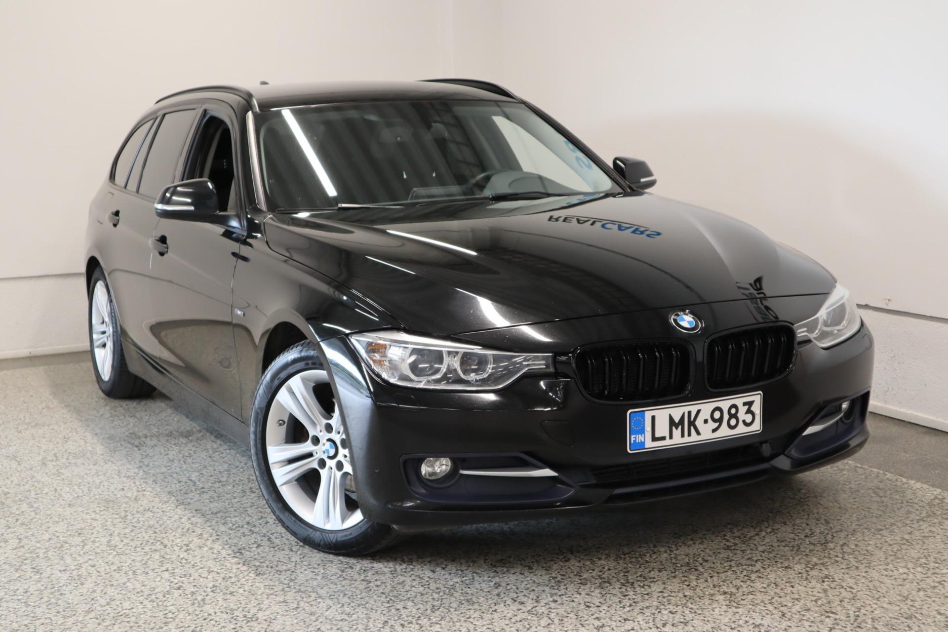 BMW 316 F31 Touring 316i TwinPower Turbo A Athlete Edition / Urheiluistuimet / Xenon valot / Bluetooth / Sähköinen takaluukku